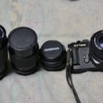 昔使っていたアナログカメラの写真