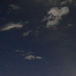 夜空の写真